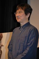 『ペタルダンス』の初日舞台あいさつに登壇した石川寛監督