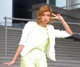 ファッション大使としてダイバーシティ東京プラザの1周年記念イベントに出演したローラ (C)ORICON NewS inc.