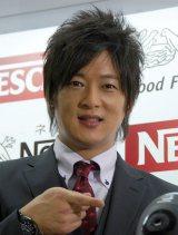 『ネスカフェ アンバサダーcafe @新宿』オープニングイベントに出席した細川茂樹 (C)ORICON NewS inc.