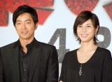 (左から)大沢たかお、松嶋菜々子 (C)ORICON NewS inc.