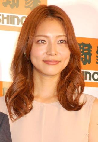 『吉野家 2013年商品戦略発表会』に出席した相武紗季 (C)ORICON NewS inc.