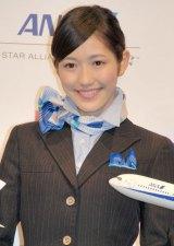 ANA×AKB48共同プロジェクト発表会に出席した渡辺麻友 (C)ORICON NewS inc.