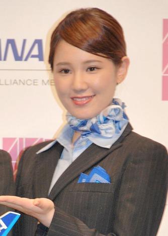 ANA×AKB48共同プロジェクト発表会に出席した鈴木まりや (C)ORICON NewS inc.