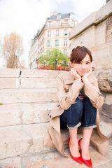現在、パリで初オリジナル写真集の撮影真っ最中の北川景子