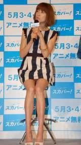 『スカパー!ゴールデンウィークはイエノミクス宣言!!』イベントに出席したhitomi (C)ORICON NewS inc.
