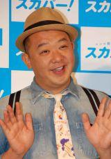 『スカパー!ゴールデンウィークはイエノミクス宣言!!』イベントに出席したTKO・木下隆行 (C)ORICON NewS inc.