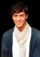 芸能事務所エヴァーグリーン・エンタテイメント初のオーディションでグランプリを獲得したシュドーズ真也さん(18) (C)ORICON NewS inc.