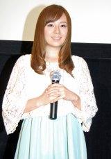 9月12日出産予定の第1子は「女の子」と報告した夏川純 (C)ORICON NewS inc.