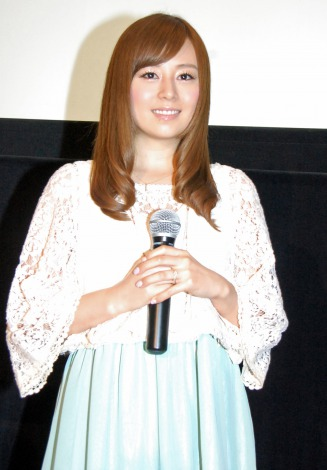 サムネイル 9月12日出産予定の第1子は「女の子」と報告した夏川純 (C)ORICON NewS inc.