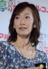 『マルコメ 料亭の味シリーズ 新CM発表会』に出席した山崎直子 (C)ORICON NewS inc.