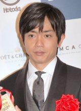 『第22回日本映画批評家大賞』授賞式に出席した青柳翔 (C)ORICON NewS inc.