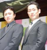 (写真左より)市川染五郎、中村勘九郎 (C)ORICON NewS inc.