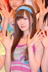 乃木坂46の6thシングルで初センターを務める白石麻衣 (C)ORICON NewS inc.