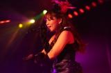 最後のAKB48劇場公演を行った河西智美 (C)AKS