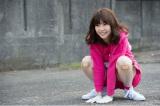 「AKBと××!」の罰ゲームで四足歩行をする島崎遥香 (C)読売テレビ