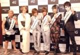 (左から)スギちゃん、IKKO、ゴールデンボンバー (C)ORICON NewS inc.