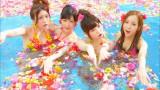 "AKB48が新曲「さよならクロール」MVを解禁(写真左から""4人センター""の大島優子、渡辺麻友、島崎遥香、板野友美)"