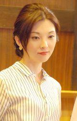 NHKドラマ『激流〜私を憶えていますか?〜』の記者取材会に出席した田中麗奈 (C)ORICON NewS inc.
