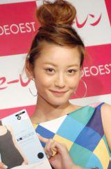 結婚・妊娠発表後、初の公の場に登場した西山茉希 (C)ORICON NewS inc.