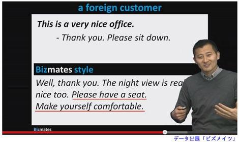 レッスン動画は実際に講師に話しかけられている感覚。
