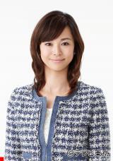妊娠中であることを発表した『Newsモーニングサテライト』の滝井礼乃アナウンサー(C)テレビ東京