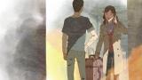 主人公・タカオが着ている服に「TRANS CONTINESTS」のロゴが…(C)Makoto Shinkai/CoMix Wave Films