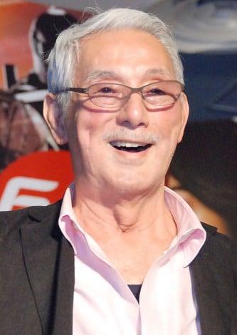 映画『G.I.ジョー バック2リベンジ』のジョー宣伝司令官就任イベントに出席した宍戸錠 (C)ORICON NewS inc.