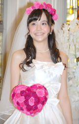 結婚情報誌『ゼクシィ』20周年Anniversary新CM発表会に出席した6代目CMガール松井愛莉 (C)ORICON NewS inc.