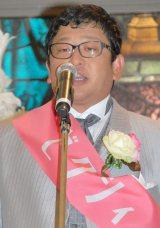 結婚情報誌『ゼクシィ』20周年Anniversary新CM発表会に出席したWエンジン・チャン・カワイ (C)ORICON NewS inc.