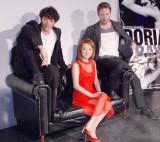 舞台『ドリアン・グレイ』記者発表会に出席した(左から)大貫勇輔、西川史子、リチャード・ウィンザー (C)ORICON NewS inc.