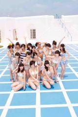 NMB48新ビジュアル(水着バージョン)