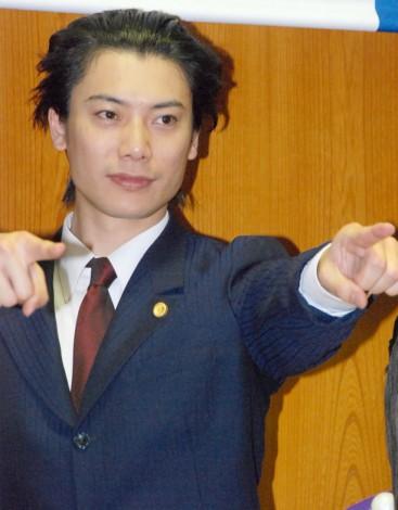 舞台『逆転裁判』制作発表会見に出席した兼崎健太郎 (C)ORICON NewS inc.
