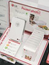 手のひらサイズのモバイルフォトプリンター『Pocket photo』(LGエレクトロニクス・ジャパン) (C)oricon ME inc.