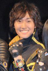 高取ヒデアキ率いるロックバンド・Z旗の10周年ライブにゲスト出席した山本康平 (C)ORICON NewS inc.