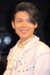 高取ヒデアキ率いるロックバンド・Z旗の10周年ライブにゲスト出席した白川裕二郎 (C)ORICON NewS inc.