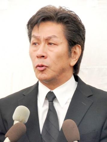 サンミュージックプロダクション代表取締役会長の相澤秀禎さんの告別式に参列した野村将希 (C)ORICON NewS inc.