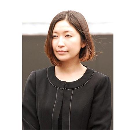 サンミュージック代表取締役会長の相澤秀禎さんの告別式の模様(写真は小野真弓) (C)ORICON NewS inc.