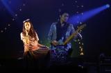 福山と映像で共演し、KOH+の新曲「恋の魔力」をライブ初披露した柴咲コウ