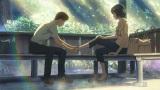 雨のシーンがあるからこそ、光があふれるシーンの美しさが際立つ(C)Makoto Shinkai/CoMix Wave Films