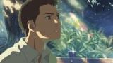 主人公の高校生・タカオ(CV:入野自由)(C)Makoto Shinkai/CoMix Wave Films