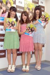 『B. L. T. U-17 vol.26』(東京ニュース通信社)発売記念でファンと触れ合う握手会イベントを行ったLinQ