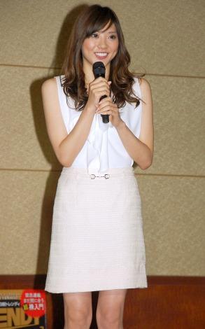 日経トレンディ『2013年上半期ヒット商品ベスト30』発表会に出席した山岸舞彩 (C)ORICON NewS inc.