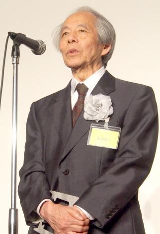 放送批評懇談会創立50周年記念式典に出席した山田太一氏 (C)ORICON NewS inc.
