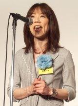 放送批評懇談会創立50周年記念式典にプレゼンターとして出席した長島三奈 (C)ORICON NewS inc.