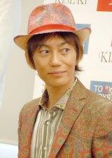 上原さくらと離婚後、初の公の場に登場した青山光司氏 (C)ORICON NewS inc.