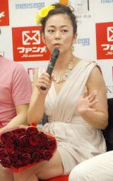 ファッションイベント『第2回東京ボーイズコレクション』(TBC)でファッションディレクターを務めることが明らかになった中島知子 (C)ORICON NewS inc.