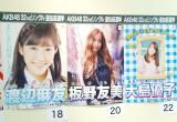 個性あふれるAKB48メンバーの選挙ポスター(左から)渡辺麻友、板野友美、大島優子=「AKB48選抜総選挙ミュージアム」 (C)ORICON NewS inc.