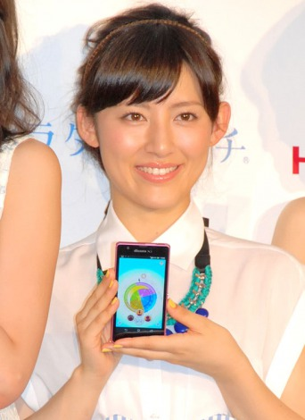 健康支援アプリ『カラダのキモチ』サービス開始記念イベントに出席した福田彩乃 (C)ORICON NewS inc.