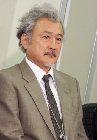 NHKドラマ『七つの会議』取材会に出席した吉田鋼太郎 (C)ORICON NewS inc.