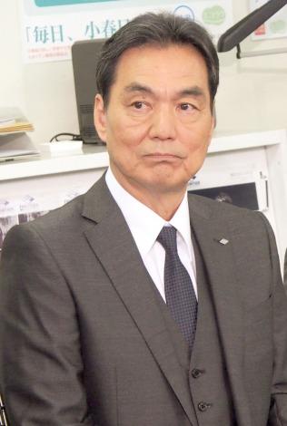 NHKドラマ『七つの会議』取材会に出席した長塚京三 (C)ORICON NewS inc.